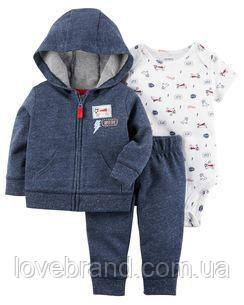 Набор 3-Piece Little Jacket Set Carter's для мальчика