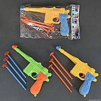 Пистолет с присосками 1688-2 (480/2) 2 цвета, в кульке