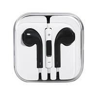Наушники с микрофоном Apple iPhone 5/6 (АAА)