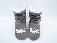 Тапочки «Коты» Bratz / домашние тапочки детские