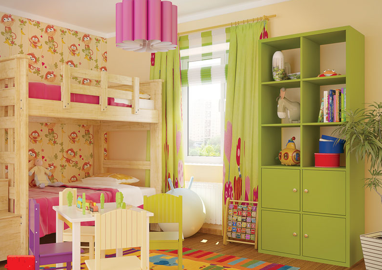 Модульная мебель Домино цветное D8 от VIP master