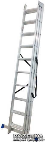Универсальная лестница Werk LZ3210B 3х10 (35276), фото 2