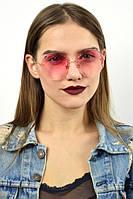 Cолнцезащитные женские очки  однотонный градиент