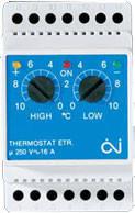 Терморегулятор для систем антиобледенения и снеготаяния ETR/F-1447A