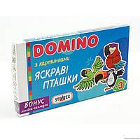 """Гр Домино """"Пташки"""" 675 укр. (12) """"STRATEG"""""""