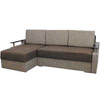 Угловой диван Garnitur.plus Микс светло-коричневый 230 см
