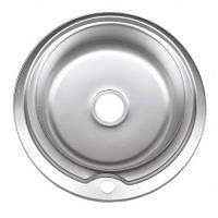 Врезная кухонная мойка Platinum 510*180 0.6 Satin, фото 1