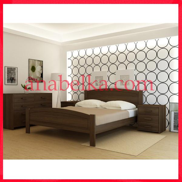 Кровать деревянная  Барселона   (Анабель)