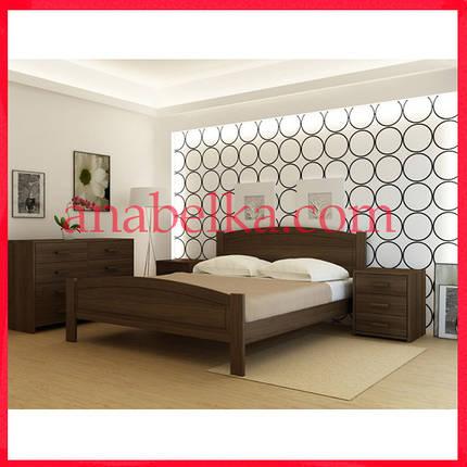 Кровать деревянная  Барселона   (Анабель) , фото 2