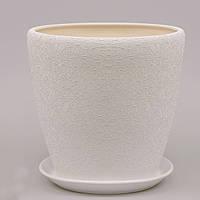 Горшок керамический Грация №2 (4,5л) в асс., фото 1