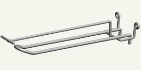 Крючки торговые двойные с ценникодержателем, фото 2