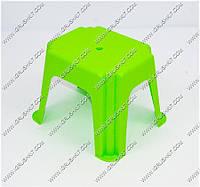 """Гр Стульчик маленький прямоугольный (10) - цвет салатовый """"K-PLAST"""""""
