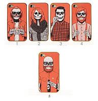 Чехол для iPhone 4/4s или 5/5s колекция Skullmen