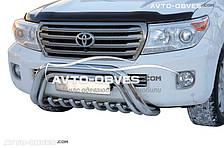 Кенгурятник низкий для Toyota Land Cruiser 200 2008-2016 (l. Schiessler)