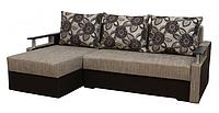 Угловой диван Garnitur.plus Микс светло-серый 230 см