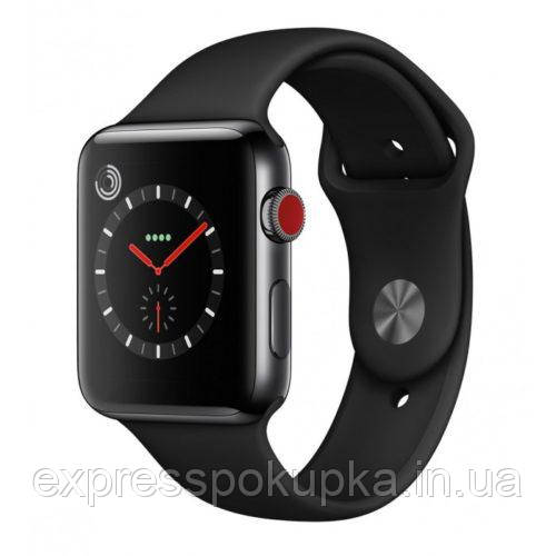 Smart Watch IWO5 Black Копия 1:1 Apple Watch Series 3 IP57