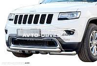 Защита нижнего бампера штатная для Jeep Gr. Cherokee