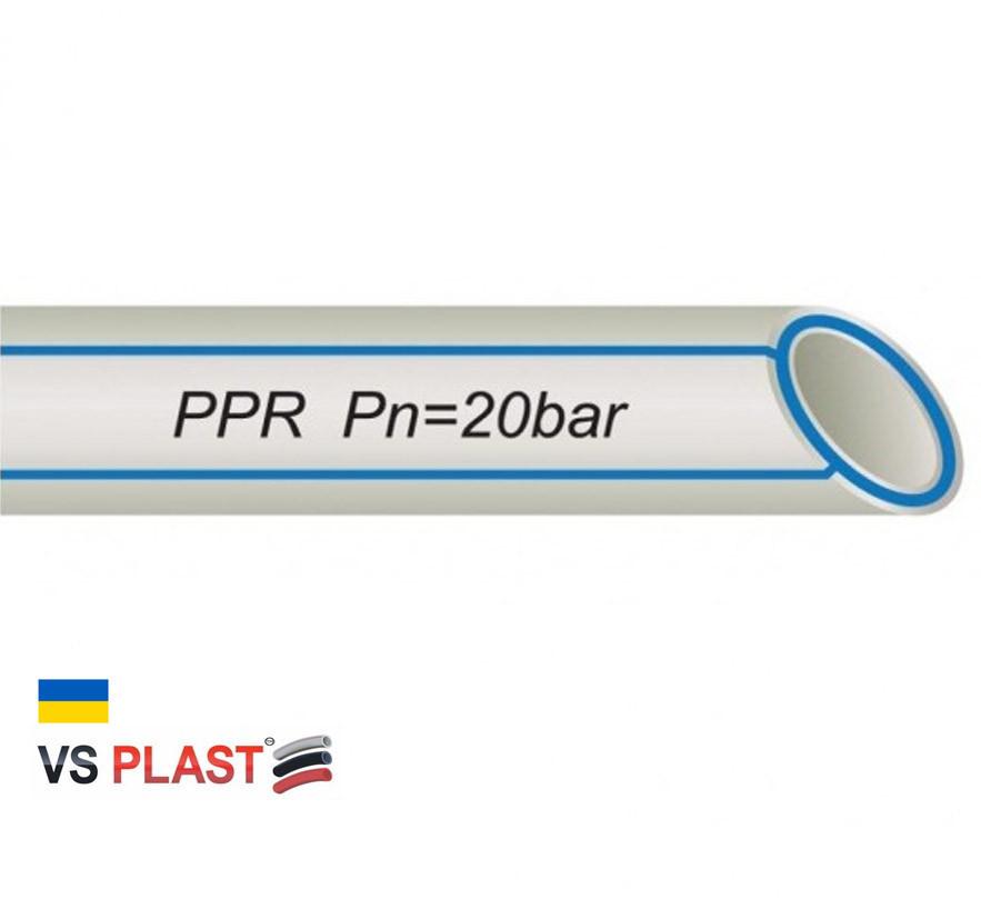 Труба VS® PPR PIPE ф 50*8.4 мм
