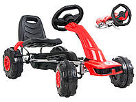 Детский гокарт на педалях MAX 30KG, фото 1