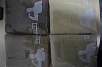 Махровое полотенце банное 70х140 фитнес для настоящих мужчин(Беж)