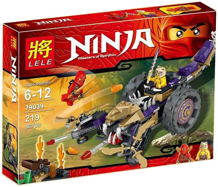 "Конструктор Lele Ninja 79039 (аналог Lego Ninjago) ""Колесница Скорпион"" 219 дет"