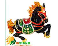 """Шкатулка ювелирная """"Лошадь"""" QF4565-2"""
