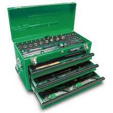 Ящик с инструментом 3 секции 99 ед. Toptul GCAZ0038 (Тайвань)