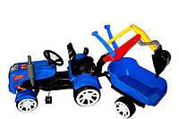 Детский трактор на педалях Traktorek