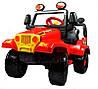 Детский автомобиль на педалях JEEP PEDALS + HELMET POL