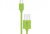 Адаптер/кабель NOMI DC 09m USB micro 0,9м Зеленый, фото 1