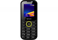Nomi Мобильный телефон Nomi (Номи) i184 Черно-желтый, фото 1