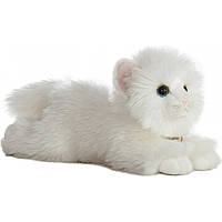 Мягкая игрушка Aurora Кошка ангорская белая 28 см