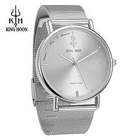 Кварцевые наручные часы King Hoon Phoenix - Silver, фото 1