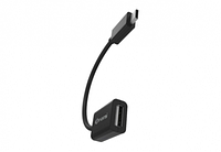 Nomi Адаптер/кабель Nomi OTG USB-micro 0,1м Черный