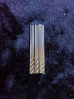 Сверло по металлу  (с титановым напылением) Диаметр 0.8 мм