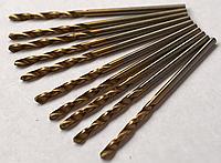 Сверло по металлу (с титановым напылением) диаметр 1,5 мм., фото 1