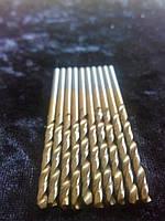 Сверло по металлу с титановым напылением диаметр 3,6