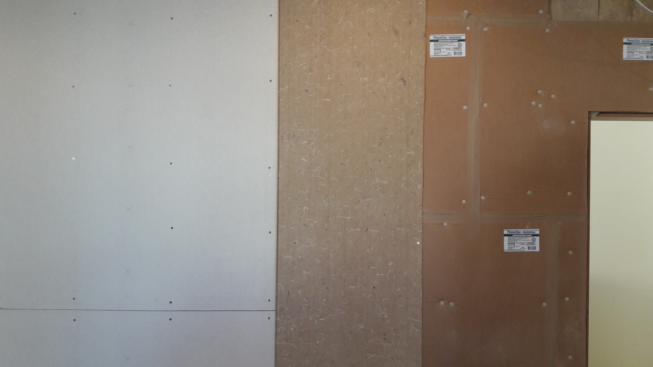 Листовой шумоизоляционный материал PhoneStar Triplex (Триплекс) 1200*800*12мм