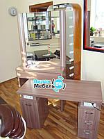 Столик для макияжа + стол с встроенными розетками