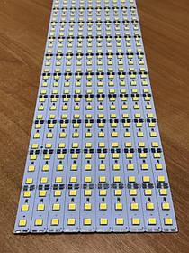 Светодиодная лента Premium SMD 5054/72 12V 2700-3000K IP20 1м на алюминиевой подложке Код.59218
