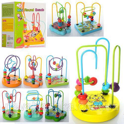 Деревянная игрушка Лабиринт, E12590-91-92, 003981