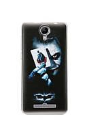 Nomi Силиконовый чехол-бампер для телефона Nomi (Номи) i5010 EVO M Джокер