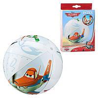 Мяч 58058 мяч пляжный надувной, для детей от 3 лет Диаметр – 61 см.