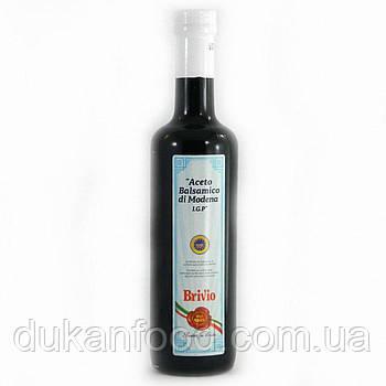 Уксус бальзамический Brivio Aceto balsamico di Modena IGP 500мл, 0 сахара ,0 жира