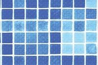 Мембрана ПВХ   (мозаика) шириной 1,65 м для гидроизоляции и отделки бассеина