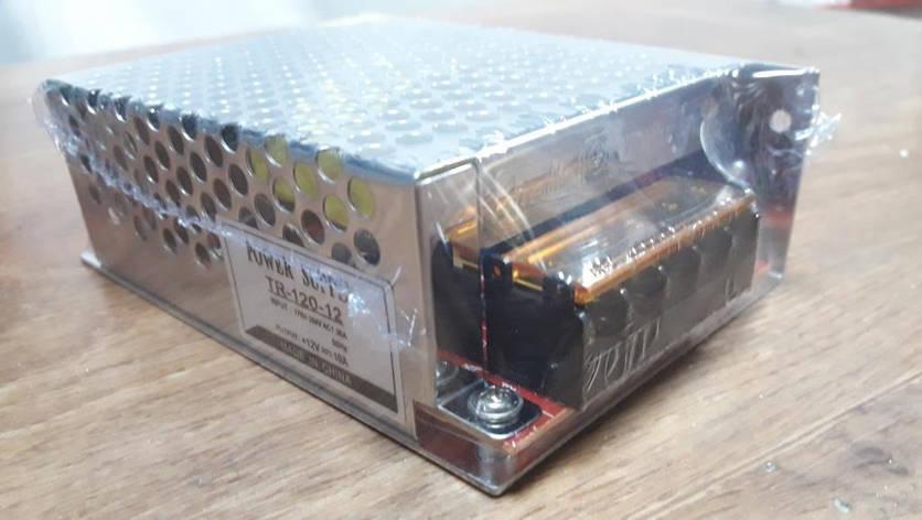 Блок питания 12V-120W-10А, фото 2