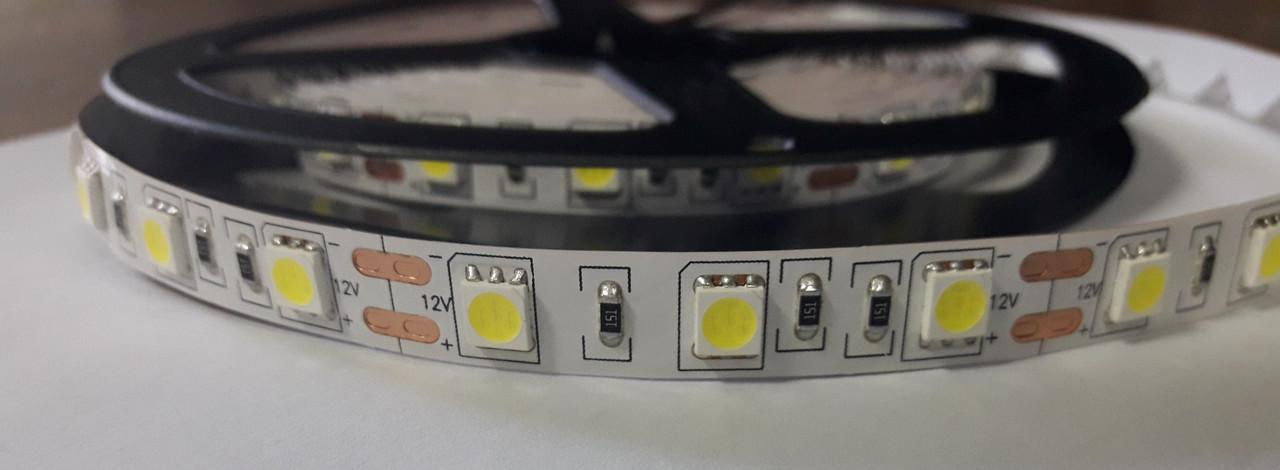 Светодиодная лента 5050-60 IP20 белый 3