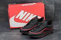 Кроссовки Nike Air Max 97 (черные с красным) кроссовки найк nike 4711