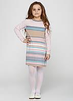 Платье розовое в полоску, фото 1
