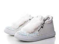 Детские ботинки зайчики, р.30, 087-белый,Польша